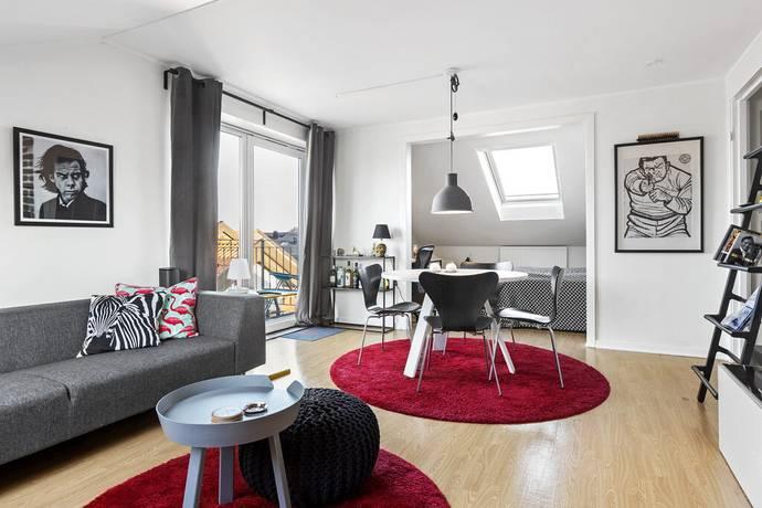Bild: 2 rum bostadsrätt på Klockaregatan 3, Kungsbacka kommun Kungsbacka