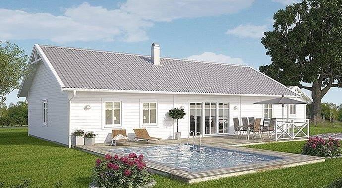 Bild: villa på Lyckstavägen, Örkelljunga kommun Örkelljunga