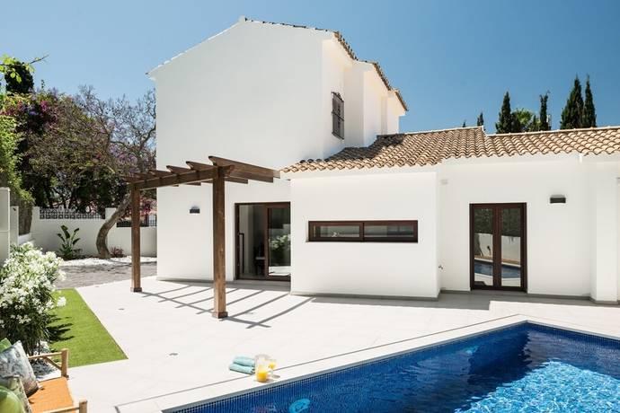 Bild: 4 rum villa på Nyrenoverad villa beläget i Nagüeles!, Spanien Marbella - The Golden Mile