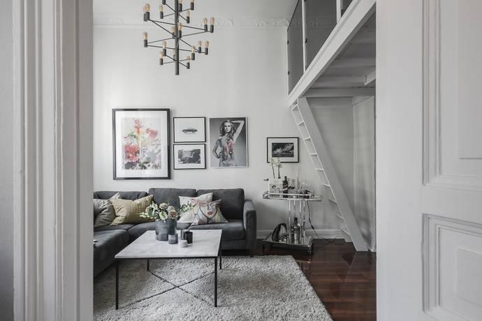 Bild: 1 rum bostadsrätt på Berzeliigatan 13 B, Göteborgs kommun Lorensberg