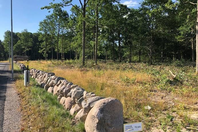 Bild: tomt på Hållbar Plats, Mörbylånga kommun Färjestaden