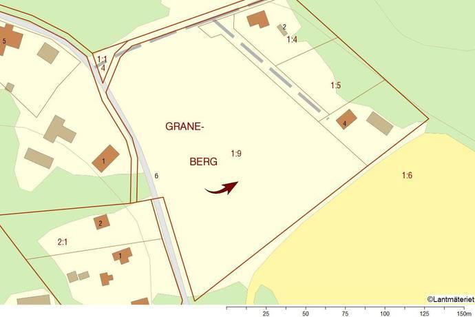 Bild: tomt på Graneberg 6, Strängnäs kommun Stallarholmen/Strängnäs