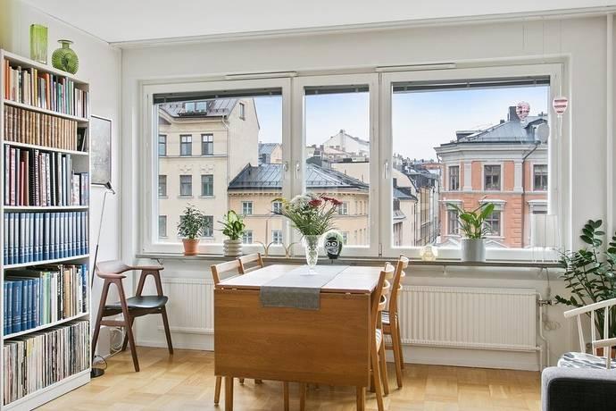 Bild: 3 rum bostadsrätt på Ludvigsbergsgatan 5, 4 tr, Stockholms kommun Maria