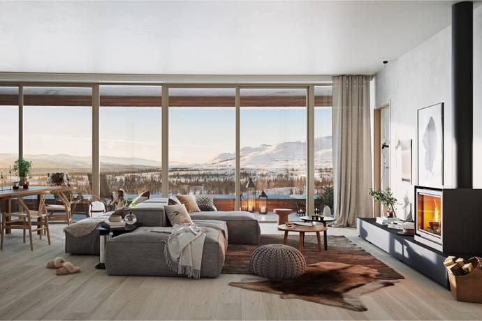 Bild: 74 m² bostadsrätt på Ullådalen 275, Åre kommun Ullådalen
