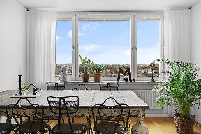 Bild: 4 rum bostadsrätt på Nybohovsgränd 22, 4/4tr, Stockholms kommun Liljeholmen