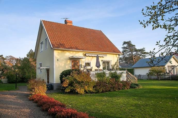 Bild: 5 rum villa på Tallvägen 9, Varbergs kommun Tvååker