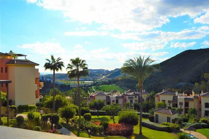 Bild: 3 rum bostadsrätt på Öppen utsikt mot hav och berg, Spanien Los Arqueros, Costa del Sol