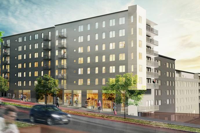 Bild: 3 rum bostadsrätt på Kung Oskars Väg 17, Lunds kommun Centralt Lund