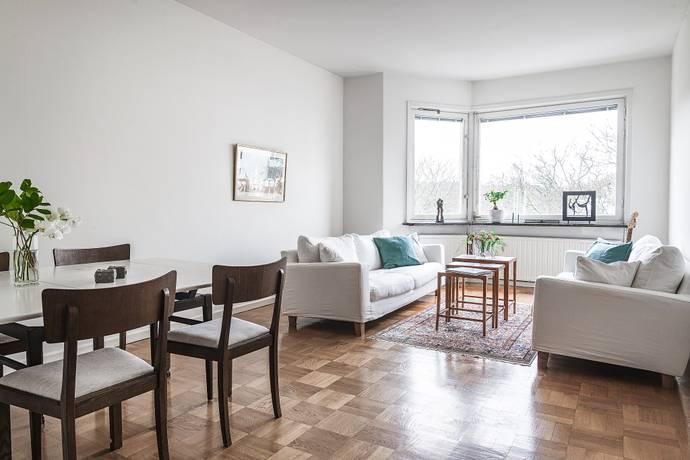 Bild: 2 rum bostadsrätt på Brantingsgatan 18, 3 tr, Stockholms kommun Gärdet