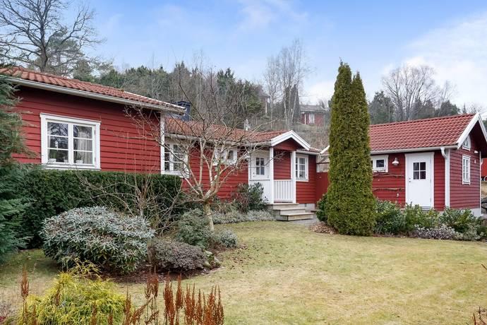 Bild: 4 rum villa på Dalvägen 14, Varbergs kommun Kärradal