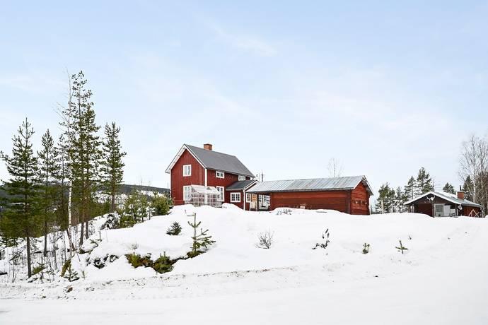 Bild: 3 rum gård/skog på Trångfors 14, Älvsbyns kommun Vidsel