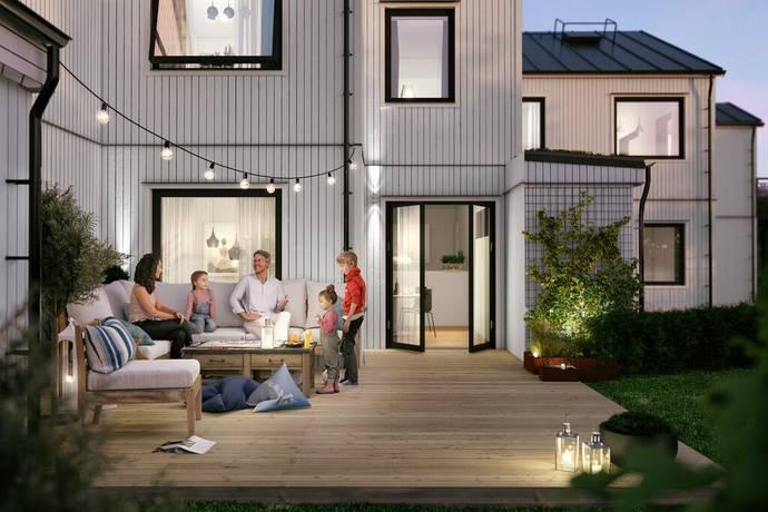 Bild: 6 rum radhus på Solhemsgatan 8B, Västerås kommun Hemdal