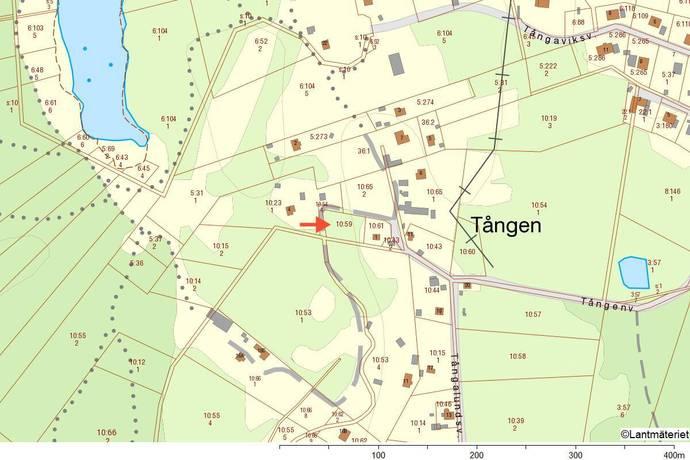 Bild: tomt på Tångagärdesvägen 3, Karlskrona kommun Hasslö