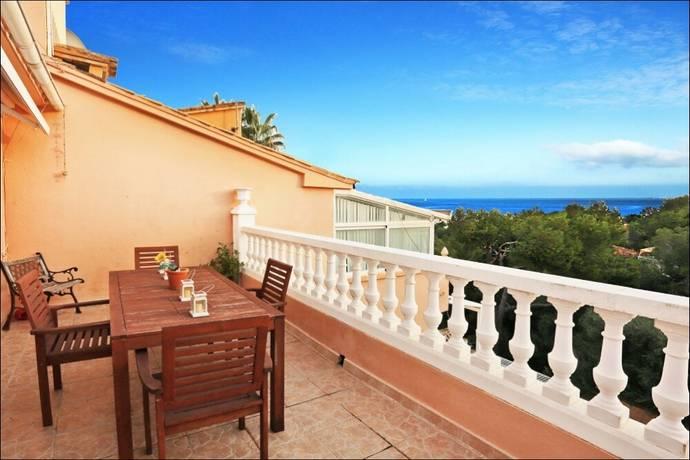 Bild: 3 rum villa på Villa, Mallorca - Costa d´en Blanes, ES, Spanien Costa d´en Blanes