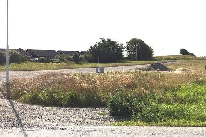 Bild: tomt på Möllegården, Skurups kommun