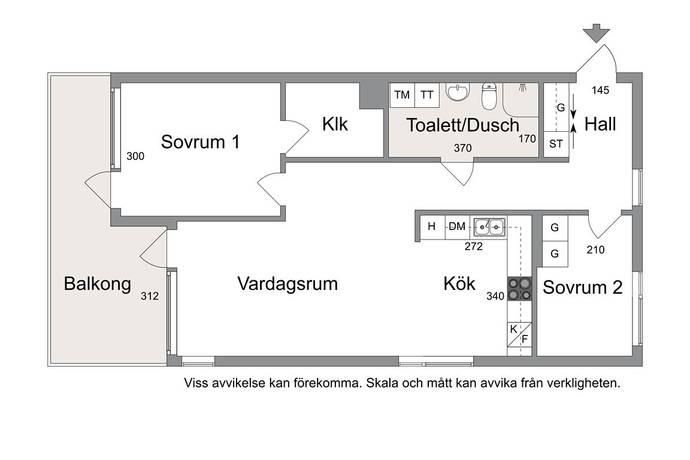 Bild: 3 rum bostadsrätt på Holmtorpsvägen, Norrköpings kommun Björkalund / södra Vrinnevi,