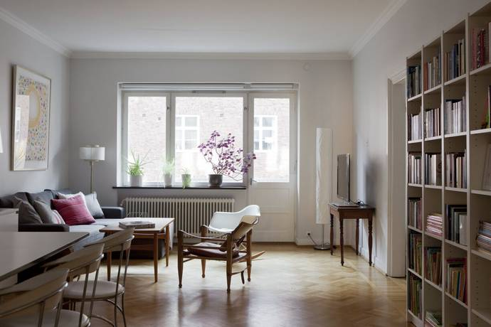 Bild: 3 rum bostadsrätt på Erik Dahlbergsgatan 21A, Malmö kommun Stadsteatern  / Davidshall