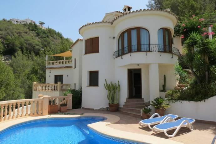 Bild: 4 rum villa på Vacker villa i Moraira, Spanien Moraira