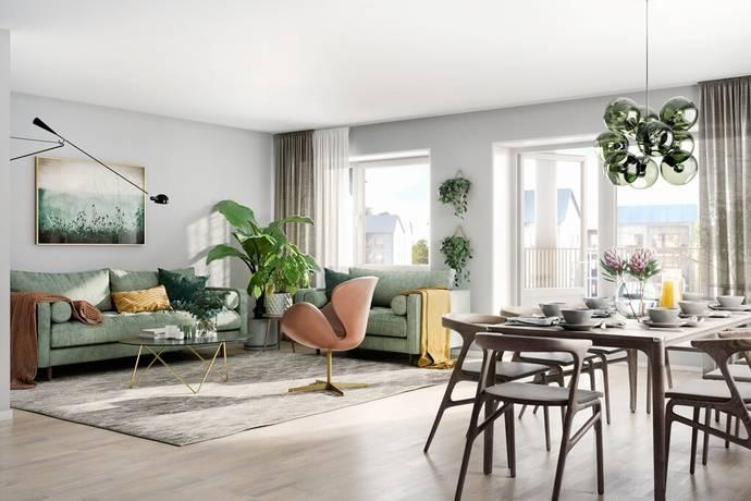 Bild: 2 rum bostadsrätt på Holmtorpsvägen 20, Norrköpings kommun Vrinnevi