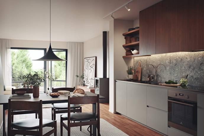 Bild: 4 rum bostadsrätt på Silvervägen, Eskilstuna kommun Stenby