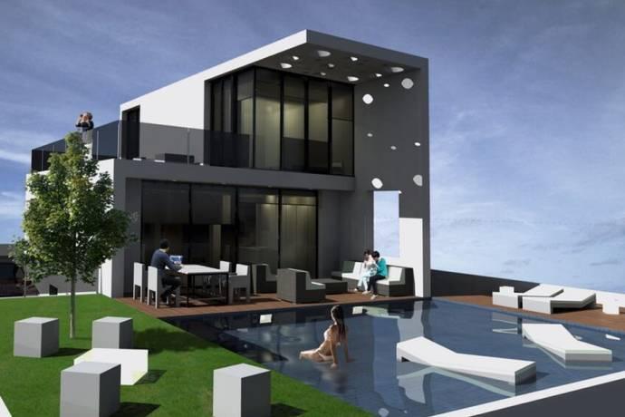 Bild: 4 rum villa på Underbart lyxiga villor i Benidorm!, Spanien