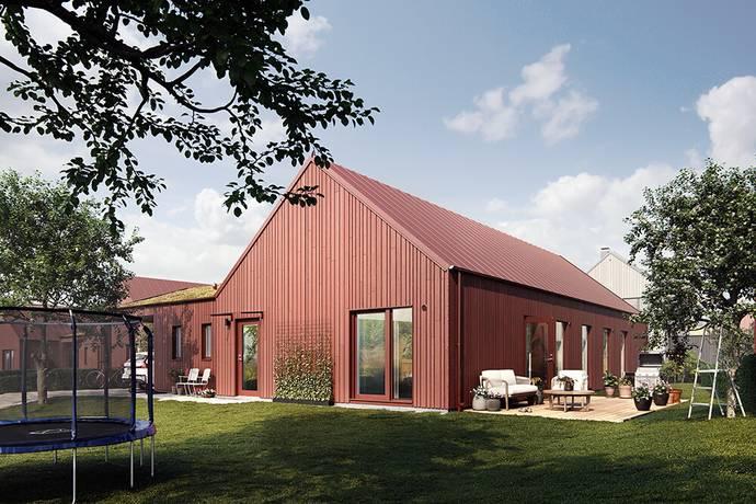 Bild: 5 rum villa på Larsatorpsvägen 4 (Hus B4), Varbergs kommun