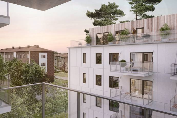 Bild: 3 rum bostadsrätt på Brf Hövdingahöjden, Fornminnesvägen 1,, Vallentuna kommun Vallentuna