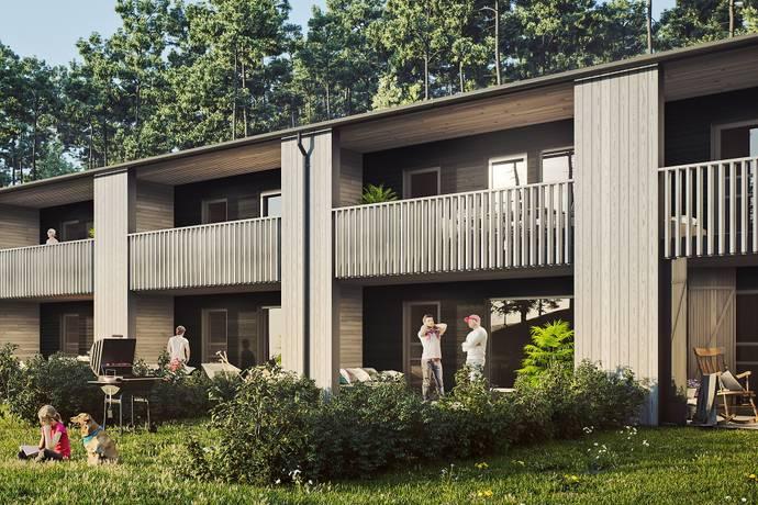 Bild: 5 rum radhus på Emils Backe Hus 1, Trosa kommun Tureholm