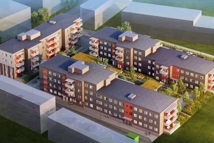 Bild: bostadsrätt på Sportsbyn, Malmö kommun Hyllie