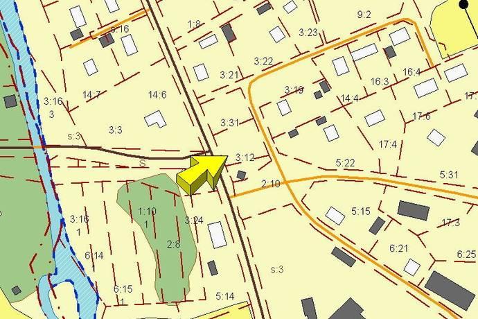 Bild: tomt på Sinderstigen 3, Nora kommun Järnboås