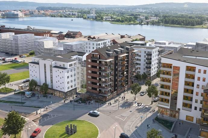 Bild från Munksjöstaden - Brf Fabrikören