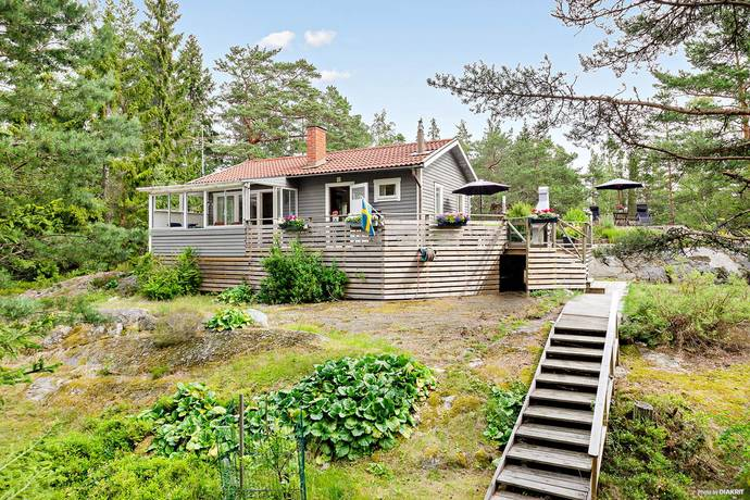 Bild: 3 rum fritidshus på Vämlingevägen 15, Värmdö kommun Vindö