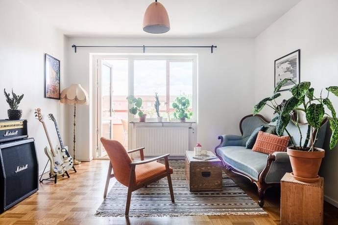 Bild: 2 rum bostadsrätt på Amiralsgatan 89D, Malmö kommun Nobeltorget