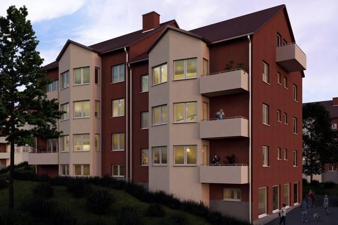 Bild: 1 rum bostadsrätt på Kolonigatan 2, Södertälje kommun Mariekäll