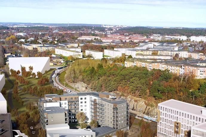 Bild: 4 rum bostadsrätt på Kastanjeallén, Göteborgs kommun