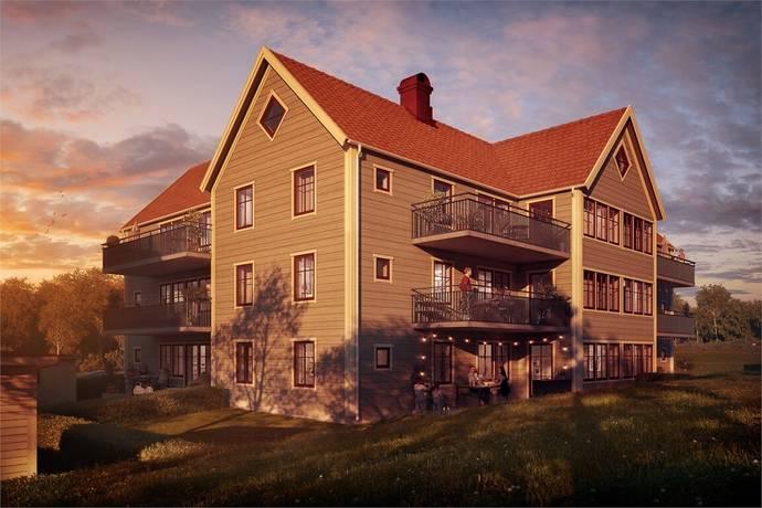 Bild: 3 rum bostadsrätt på Övre Parkvillan - Ingared, Alingsås kommun Ingared