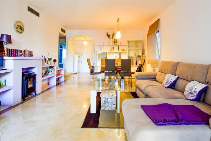 Bild: 3 rum bostadsrätt på Lägenhet med privat trädgård, Spanien Estepona Öst / East | Estepona