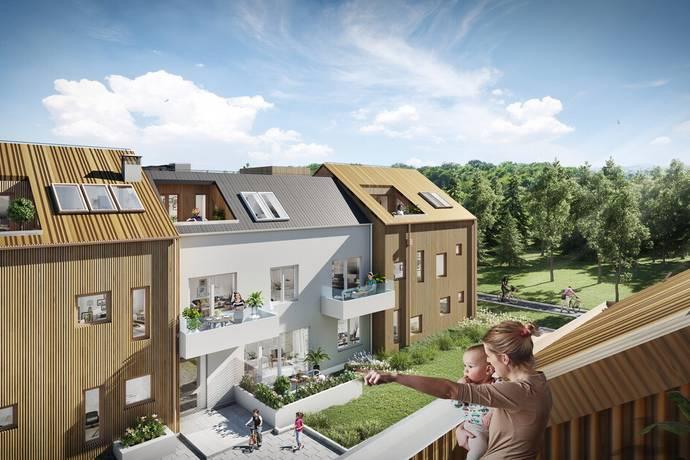 Bild: 4 rum bostadsrätt på Lovisedalsvägen 41, Nacka kommun Älta
