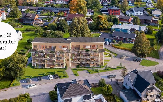 Bild: 2 rum bostadsrätt på Höjdgatan 26, lgh 203, Ulricehamns kommun