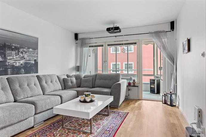 Bild: 2 rum bostadsrätt på Södra Slottsgatan 22D, Gävle kommun Söder