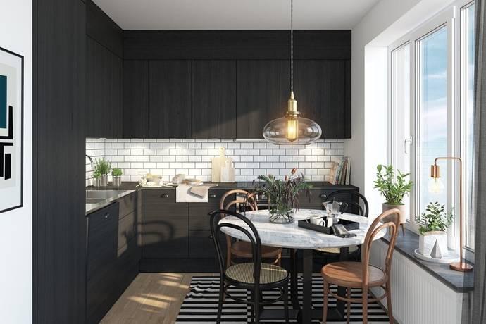 Bild: bostadsrätt på Hagaterrassen, Hagastaden, Stockholms kommun Hagastaden