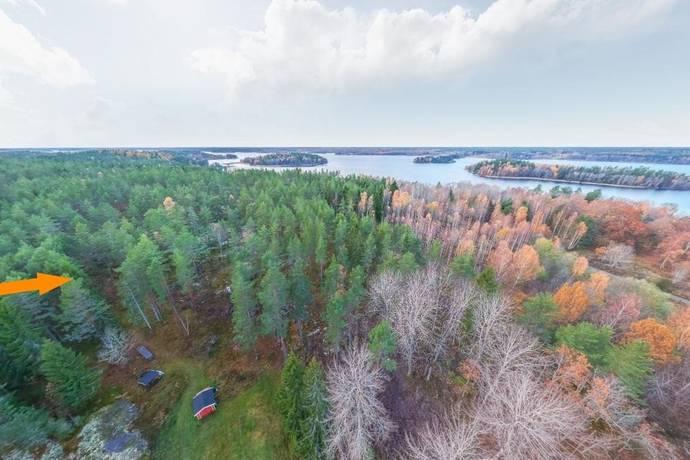 Bild: tomt på Sillingevägen 74, Österåkers kommun Ljusterö