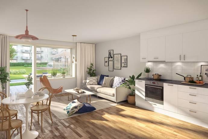 Bild: 2 rum bostadsrätt på Termikgatan, Örebro kommun Södra Ladugårdsängen