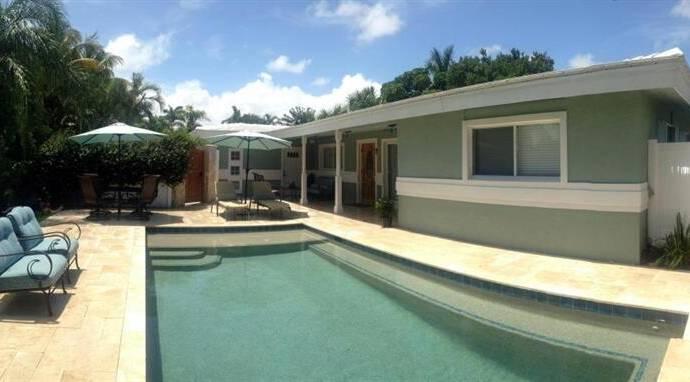 Bild: 5 rum villa på 2621 NE 7 Street Pompano Beach, FL 33062, USA Florida