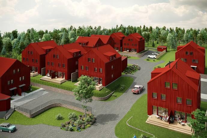 Bild från Brf Parklängan - Vill du ha ett arkitektritat BR-parhus med påkostade materialval?