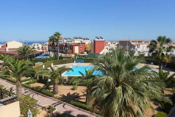 Bild: 2 rum bostadsrätt på Pool / Balkong / Möbler, Spanien Fin 2:a vid Stranden