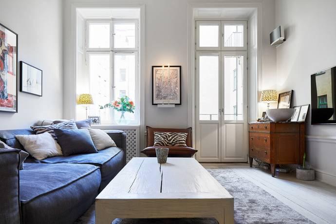 Bild: 3 rum bostadsrätt på Artillerigatan 40B, Stockholms kommun Östermalm
