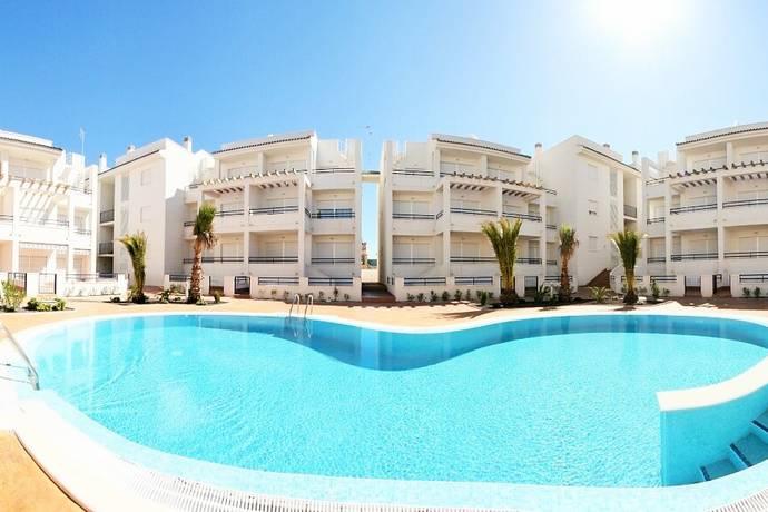 Bild: 3 rum villa på Lägenheter i ett privat område nära havet, Spanien La Veleta-Torreveija- Costa Bl