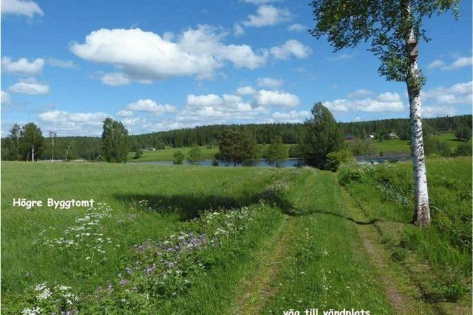 Bild: tomt på Hol, Årjängs kommun Sillerud