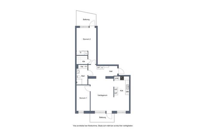 Bild: 3 rum bostadsrätt på Tideliusgränd 11, Stockholms kommun Södermalm